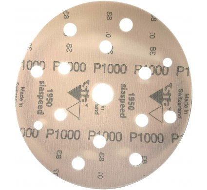 50 disques SIA SPEED support film 15 trous P1000