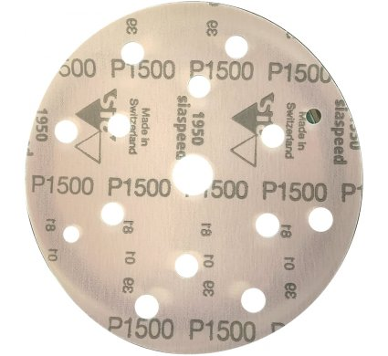 50 disques SIA SPEED support film 15 trous P1500