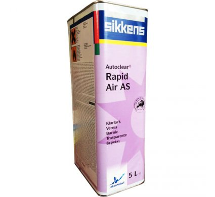 Vernis ANTI RAYURES Autoclear Rapid Air AS 5L