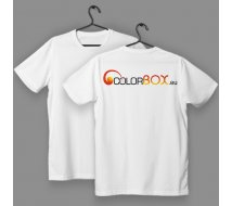 1 Tee-shirt blanc Colorbox.eu - taille L