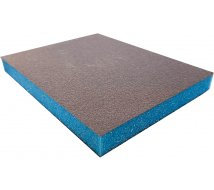 10 éponges abrasives SIA SPONGE ultra fine bleue 98X120X13mm
