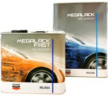 Kit vernis Mégalack ML920 4L + 1 durcisseur ML905 2L