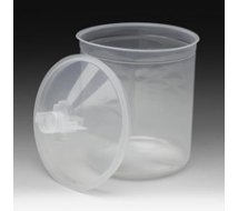 Standard PPS 50 poches jetables 650ml, 75 couvercles/filtres, 35 bouchons, 125µ