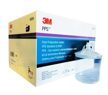 Standard PPS 50 poches jetables 650ml, 50 couvercles/filtres, 25 bouchons, 200µ